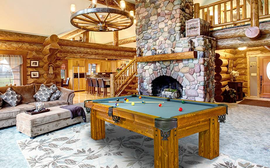 Billiard table Rustic Ranch