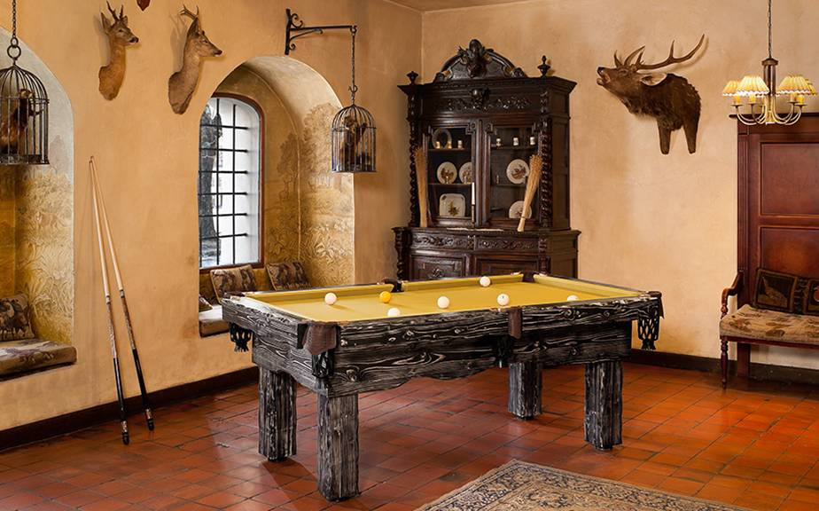 "Billiard table ""Rustic"""